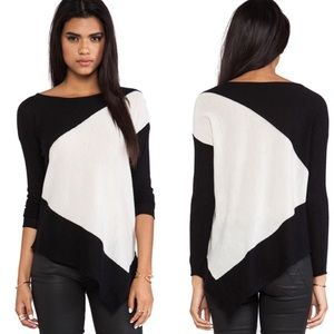 Alice + Olivia | Stewart Color Blocked Pullover